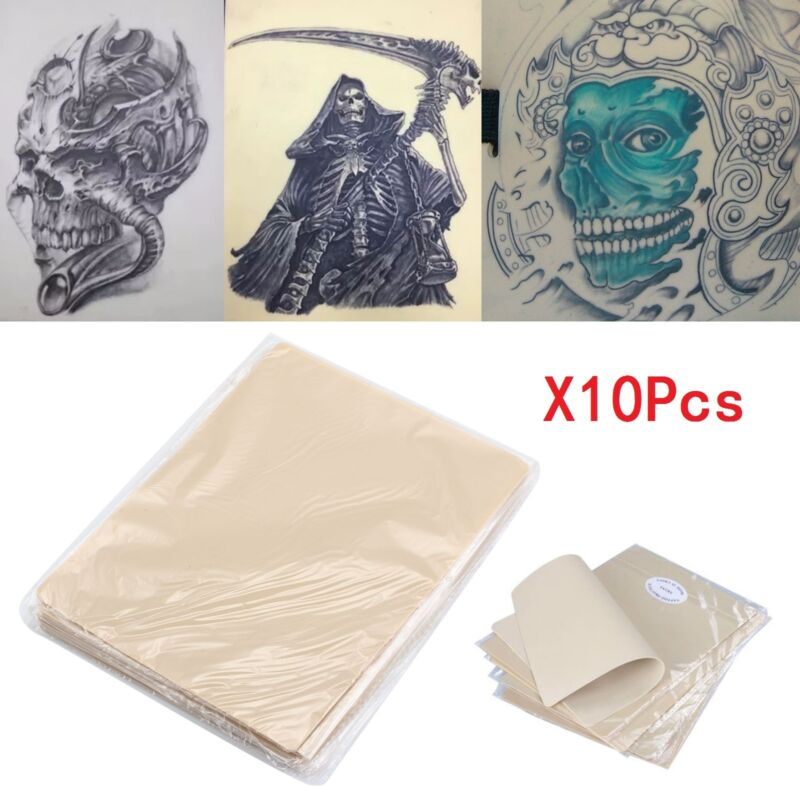 pack of 10 learn blank tattoo tattoos fake false practice skin 20x15cm synthetic ebay. Black Bedroom Furniture Sets. Home Design Ideas