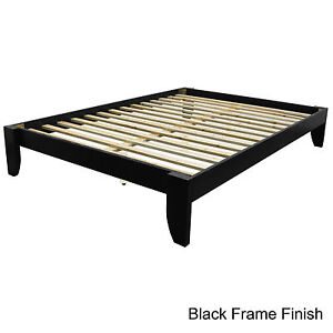 Full All Wood Platform Bed Frame Choose Finish!!!