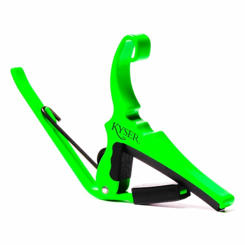Kyser KG6NGA Neon Green Quick-Change Guitar Capo