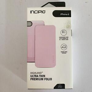Incipio Pastel Pink iPhone 6/6s Folio Case