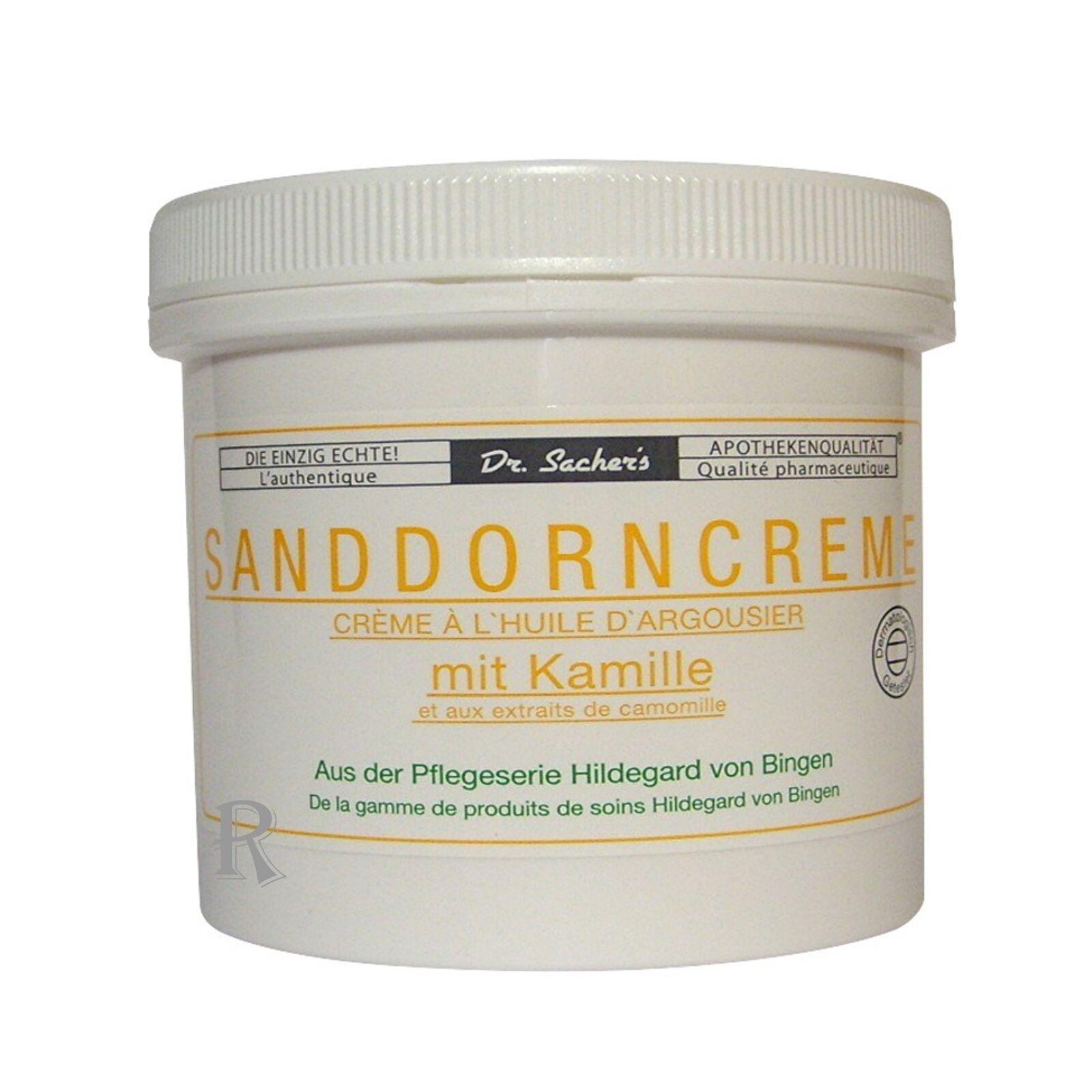 3 x Sanddorn Creme Kamille Sanddorn Öl Dr. Sacher s Kühn Kosmetik Creme Balsam