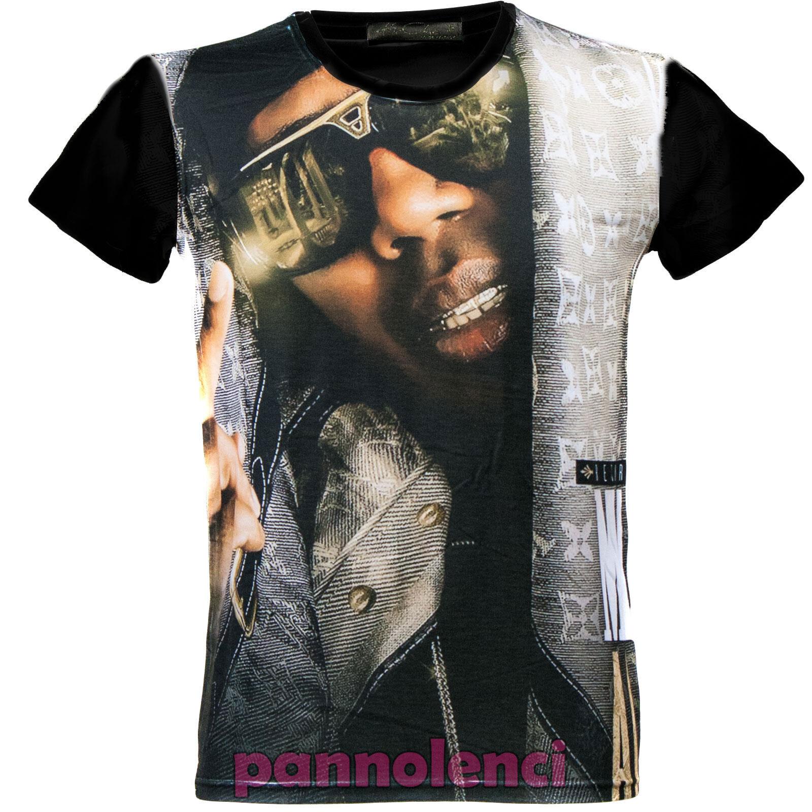 Rapero de rap camisa camiseta hombre camiseta Made Italy sublimatic ABU-138   base blanco 80b5167ce5960