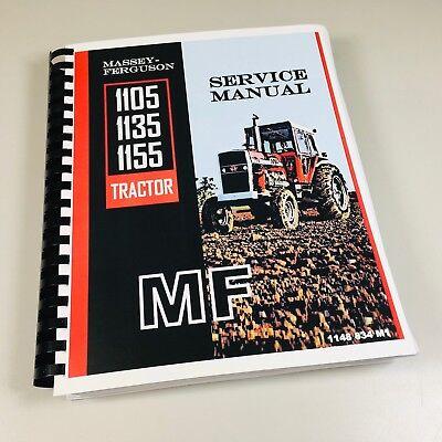 Massey Ferguson 1105 1135 1155 Tractor Service Workshop Repair Manual