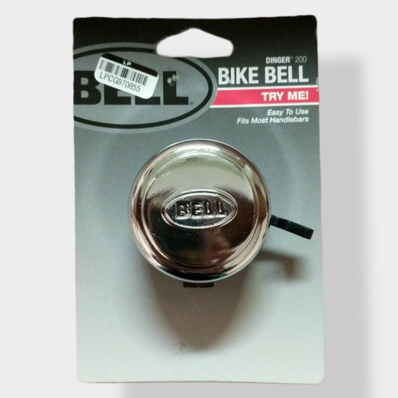 Bell Chrome Plated Bike Bell NWT 7122021 Dinger 200