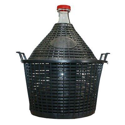 POLYKORB FÜR 10L GLASBALLON Weinballon Korb Kunststoff