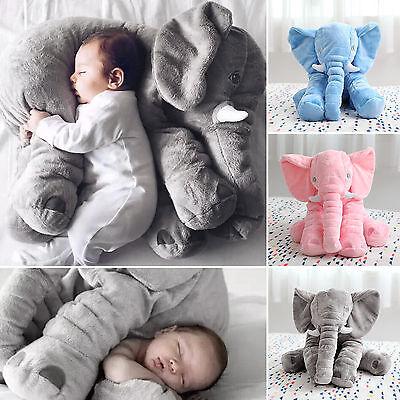 Kinder Baby Elefant Puppe Kissen Weich Plüsch Stofftier Kuscheltier Spielzeug