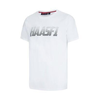 T-SHIRT Tee Formula One 1 Mens Haas F1 Team NEW! USA Graphic Cotton White