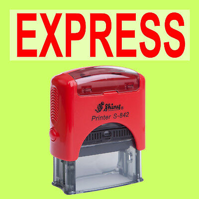 EXPRESS - Shiny Printer Rot S-842 Büro Stempel Kissen Rot