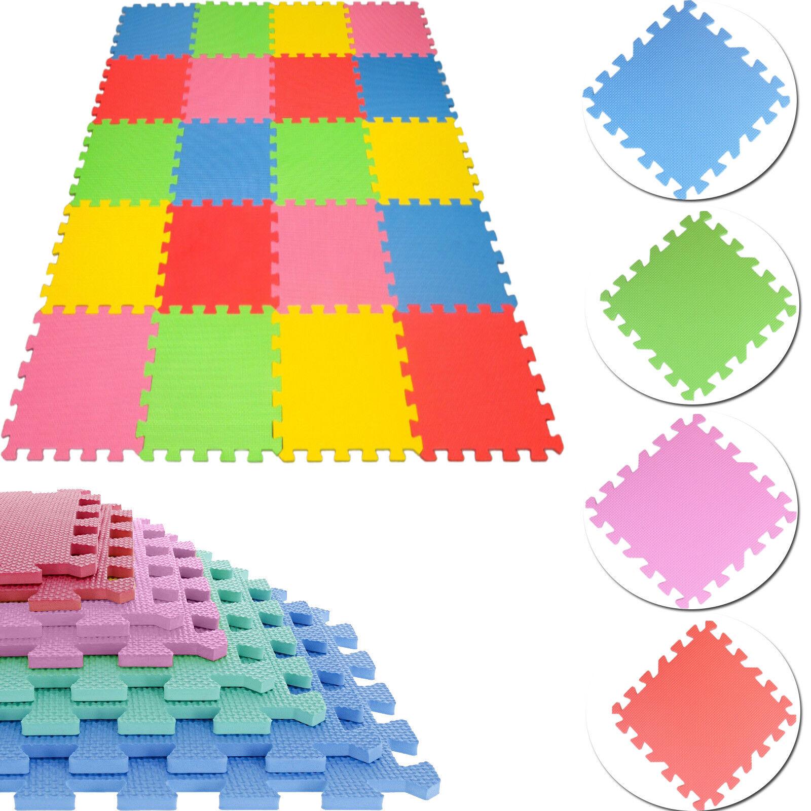 High Quality 10pcs 30x30 cm Interlocking EVA Soft Foam Kids Play Mats Tiles Set