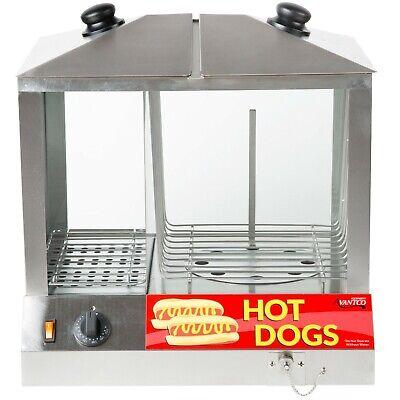Avantco Hds-200 200 Dog 48 Bun Hot Dog Steamer Merchandiser - 120v 1300w