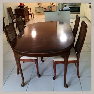 American Solid Cherry Dining Table Ten Chairs