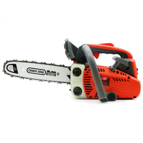 25.4CC Gas Chainsaw Top Handle Gasoline Powered Chain Saw 2-Stroke 1KW 12