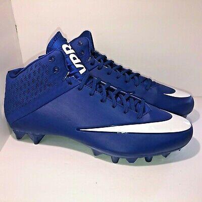 99bd958c7 Nike Vapor Speed VPR Football Cleats Size 14 Blue White 847089 413 New
