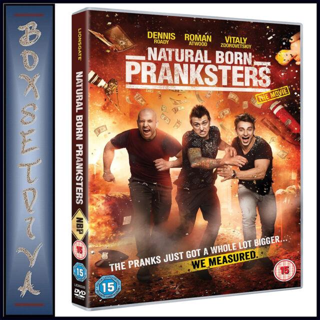 NATURAL BORN PRANKSTERS - THE MOVIE  **BRAND NEW DVD***