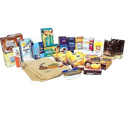 Kaufmannsladen Set 42 teilig Zubehör für Kinderküche Kaufladen Tante Emma Laden