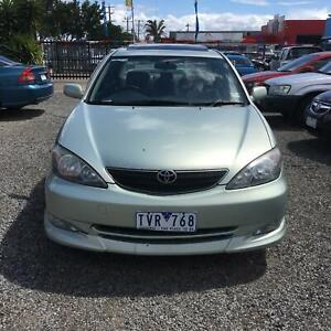2003 Toyota Camry AZURA Auto  Sedan $3999 driveaway Hoppers Crossing Wyndham Area Preview