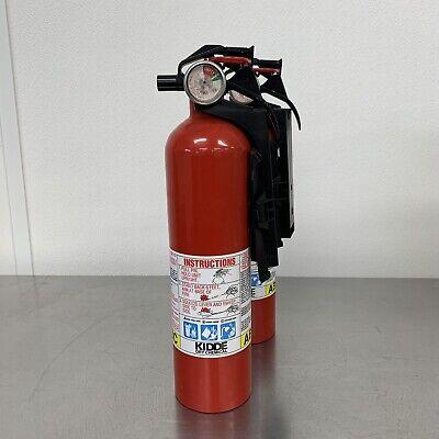 Fire Extinguisher Abc Home Car W Bracket Mount Multiple Use Kidde Brand 3.9 Lb