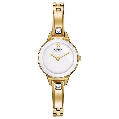 Citizen Eco-Drive Women's EX1322-59A Silhouette Crystal Accents 23mm Watch