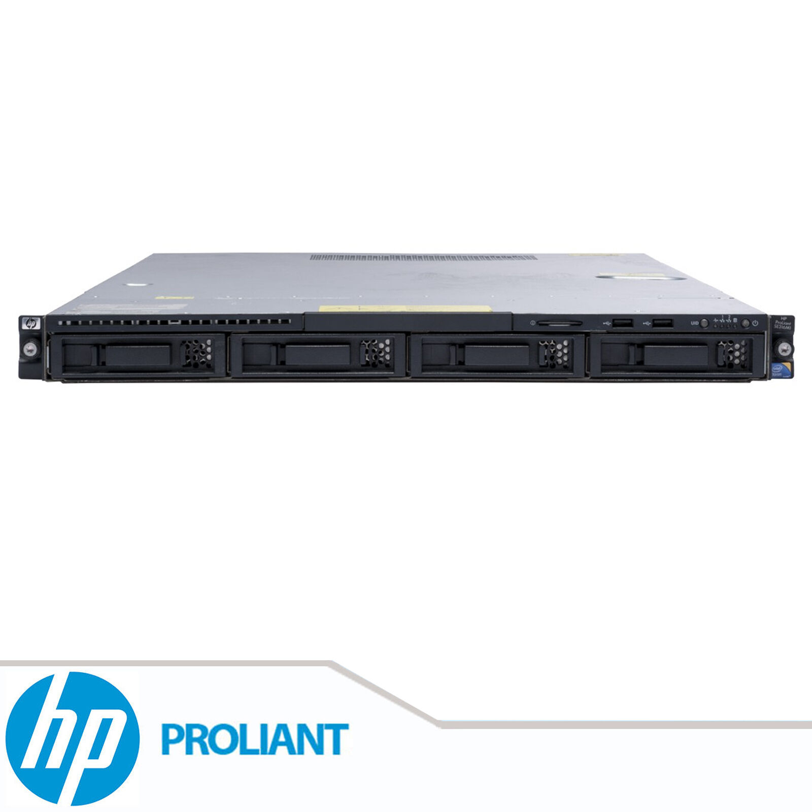 HP ProLiant DL160 G6 2x Xeon Quad Core E5506 8GB DDR3 RAM 1U Rackable Server
