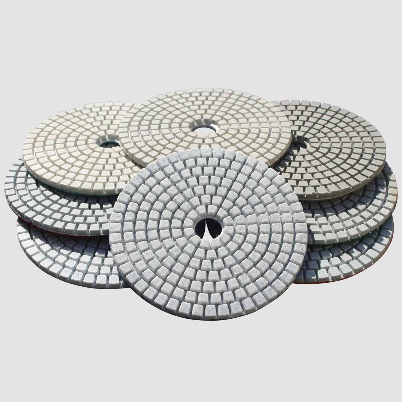 Stadea Wet Dry Diamond Polishing Pads 4 Set For Granite