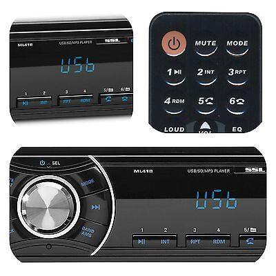 $34.99 - Bluetooth Car In-Dash FM Radio Stereo Audio Receiver MP3 Player SD USB Aux Input