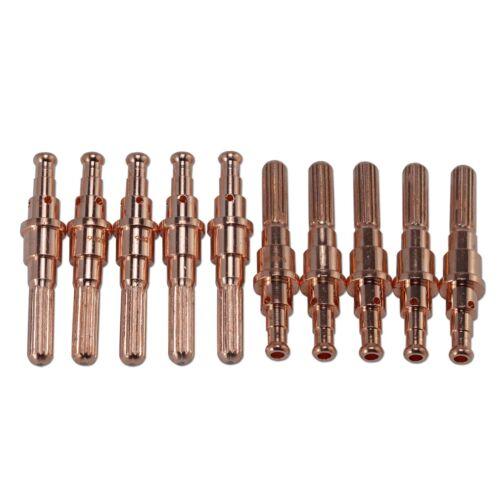 10pk 9-8215 Thermal Dynamics SL60 SL100 Plasma Cutter Torch Plasma Electrode Tip