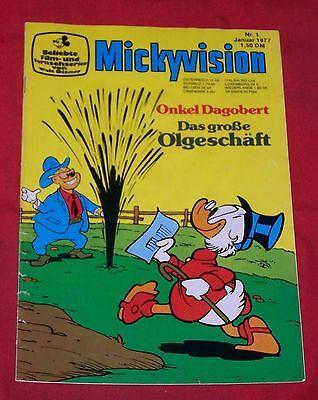 Mickyvision 1977 Nr  1 , Ehapa , Z 1-