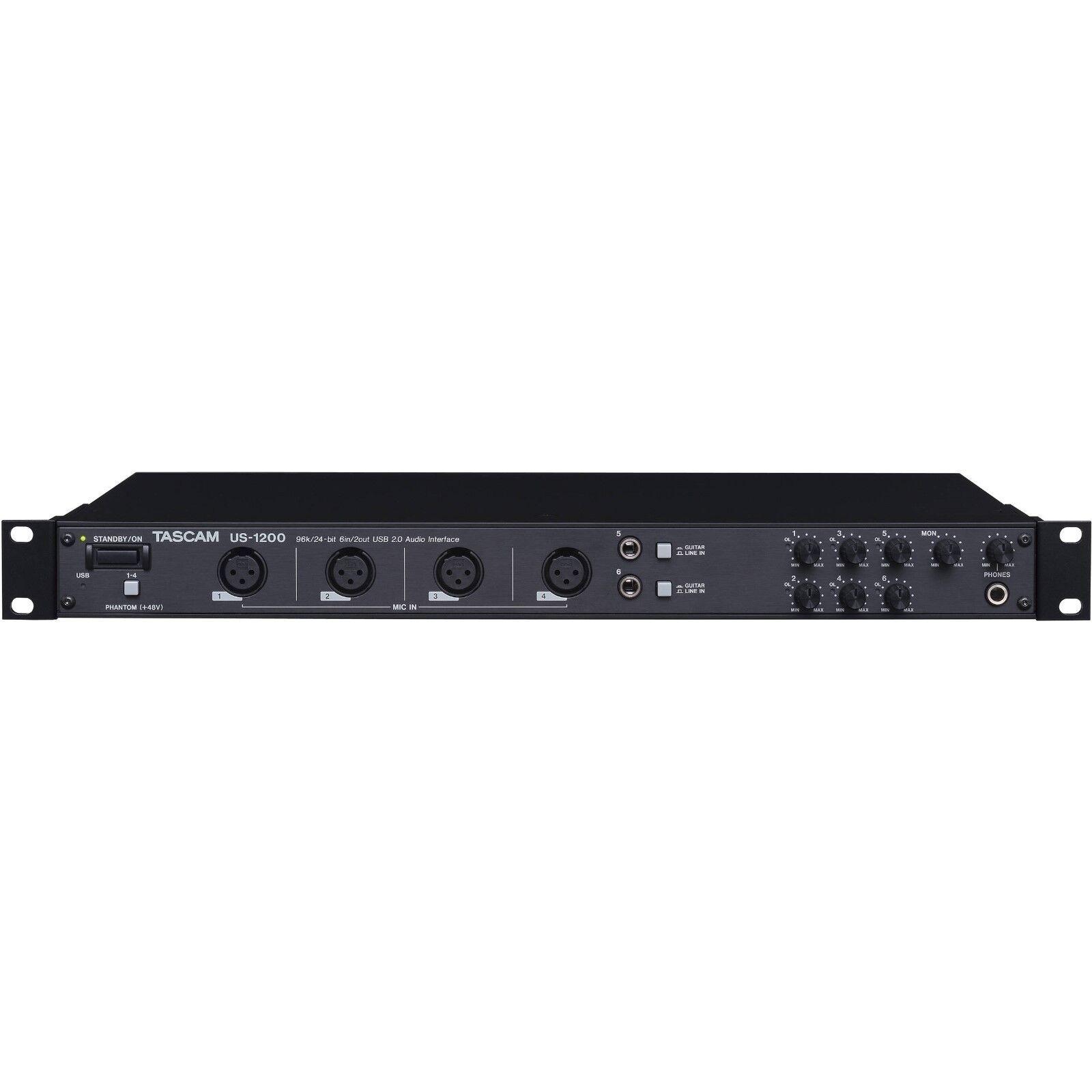 TASCAM US-1200 USB Audio Interface New Multi Adaptor Type