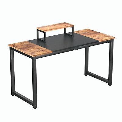 Computer Desk Pc Laptop Workstation Gaming Study Wood Home Office Desk