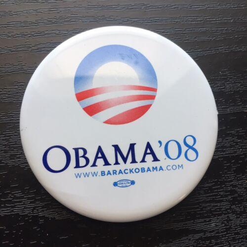 President Barack Obama White 2008 Button - $1.95