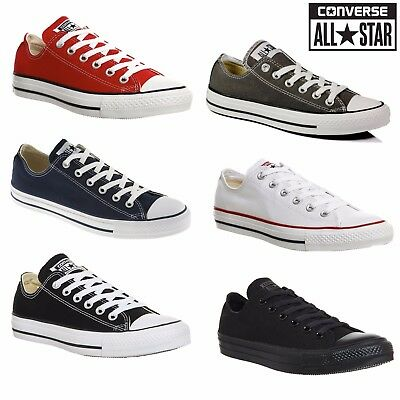 Converse Women Men Unisex All Star Low Tops Chuck Taylor Trainers all sizes