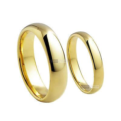 18k yellow gold gf ring men women