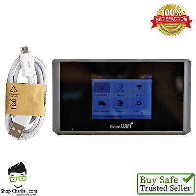 ZTE Pocket MF975S (Sprint) - 4G LTE Mobile Hotspot Touchscreen Black