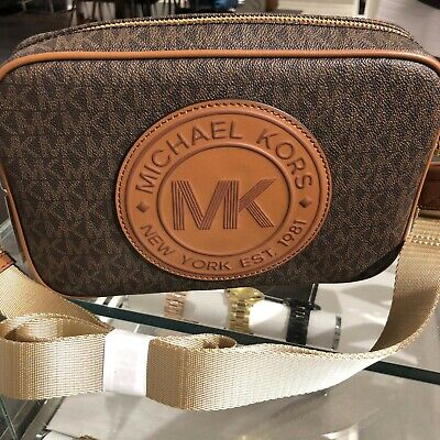 Michael Kors Women PVC Leather Crossbody Bag Handbag Messenger Purse Shoulder St