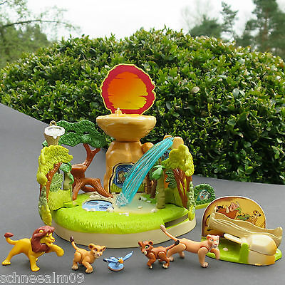 Mini Polly Pocket Disney König der Löwen Lion King Playset 100% Komplett