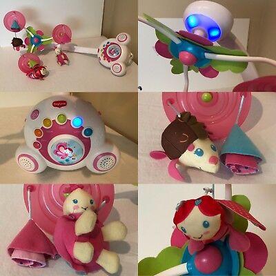 Tiny Love Princess Soothe N Groove Pink Mobile Lights Music Lullaby Classical