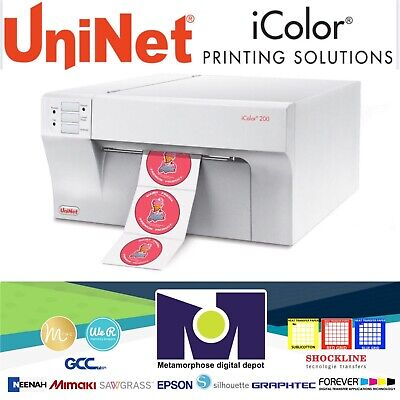 Icolor 200 Inkjet Color Label Printer By Uninet