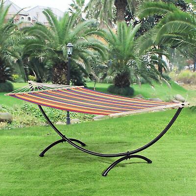 [casa.pro]® Hamaca XXL con soporte incluido de colores para jardín balcón segunda mano  Embacar hacia Spain