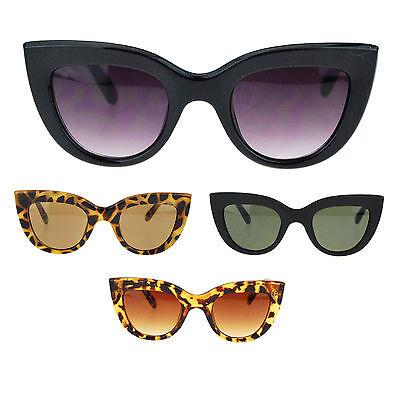 Womens Thick Plastic Frame Retro Style Cat Eye (Thick Womens Fashion)