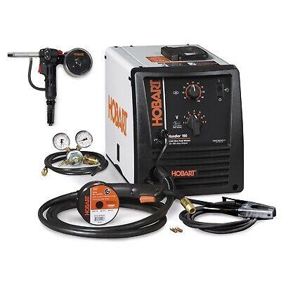 Hobart Handler 190 Mig Wire Welder With Spoolrunner 100 Spool Gun 500554001