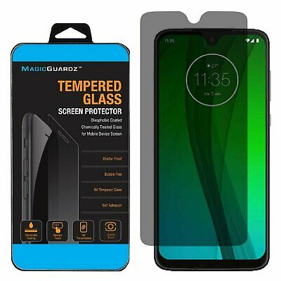 Privacy Tempered Glass Screen Protector For Motorola Moto G7 Play Power Supra Cell Phone Accessories