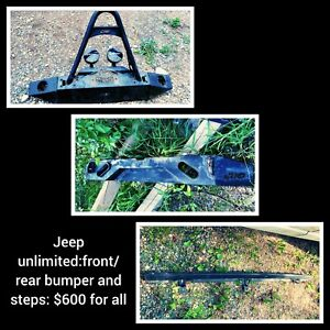 Jeep unlimited accessories