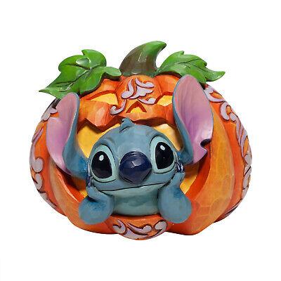 Disney Jim Shore 2020 Stich IN Jack O'Lantern Halloween Kürbis Figur