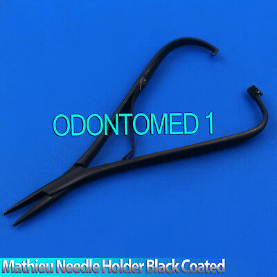 Mathieu Needle Holder Full Black 5.5 Surgical Dental Instruments