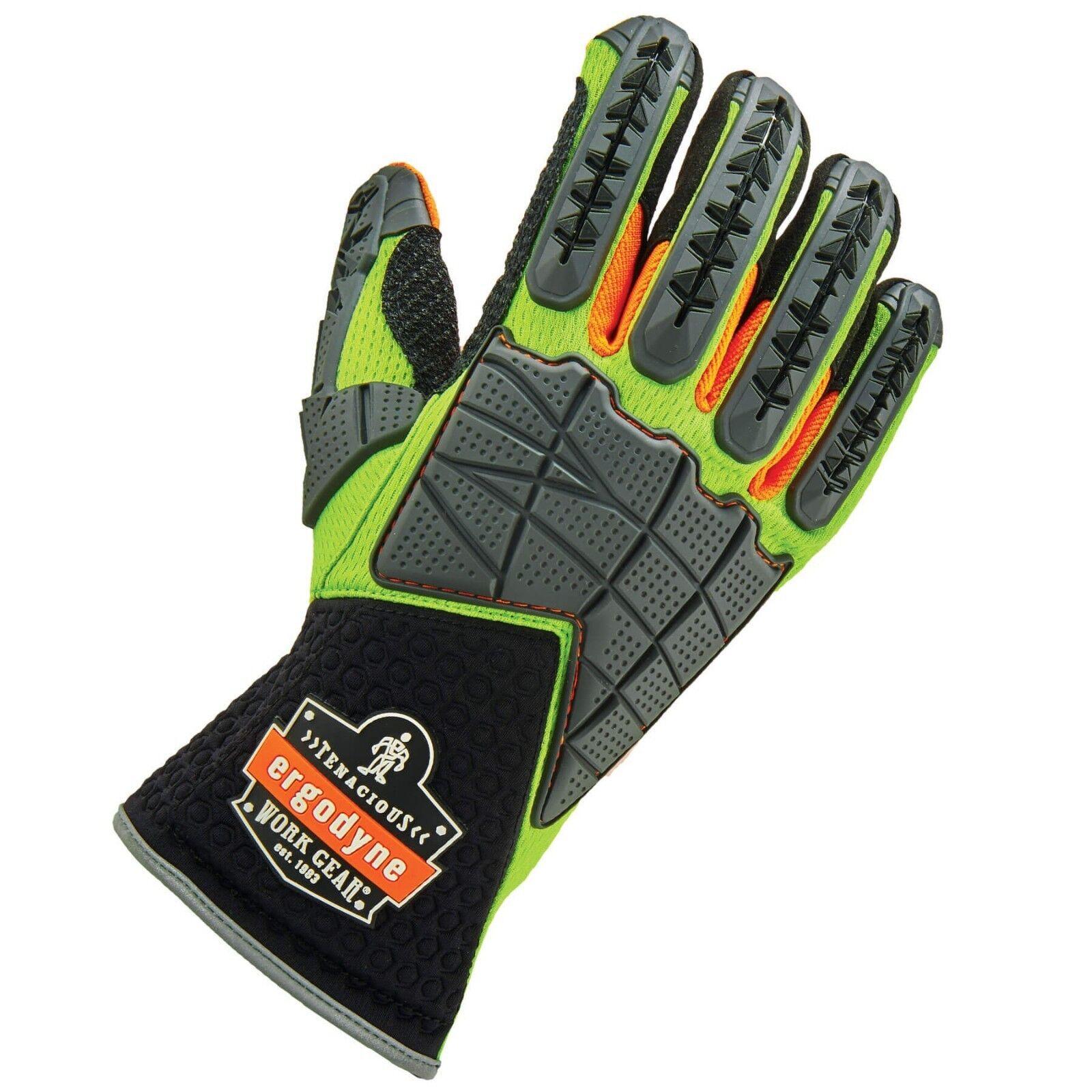 Ergodyne ProFlex 925F(x) Standard Dorsal Impact-Reducing Gloves Size: SM-2XL Business & Industrial
