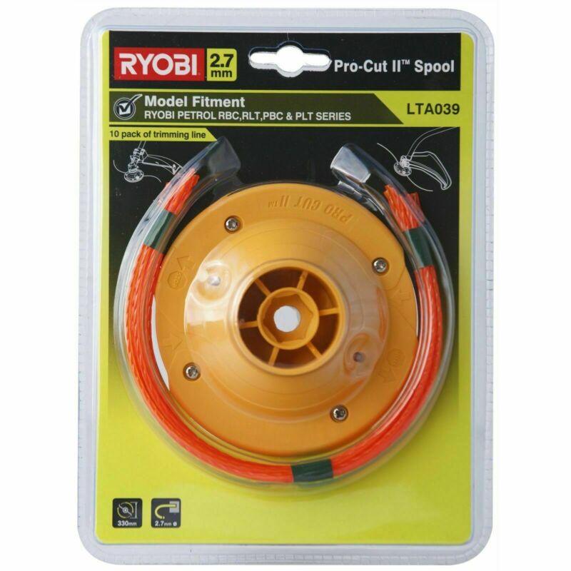 Ryobi 2.7mm Pro Cut Ii Pre-cut Trimmer Line - 10 Pack - Japan Brand