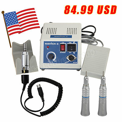 Dental Lab Marathon Electric Micro Motor 2pcs Straight Low Speed Handpiece B1