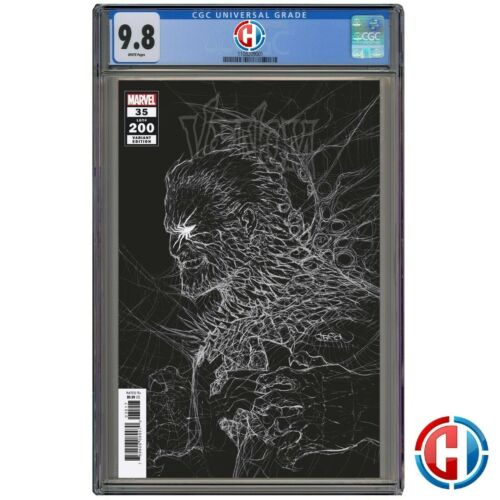 VENOM #35 200TH ISSUE GLEASON VAR CGC Graded 9.8 PRESALE 6/9/21 LAST CATES