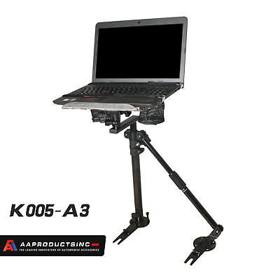 UNIVERSAL LAPTOP COMPUTER MOUNT STAND FOR CAR VEHICLE W/ NO DRILL SUPPORTING (Drill Vehicle Laptop Mounts)