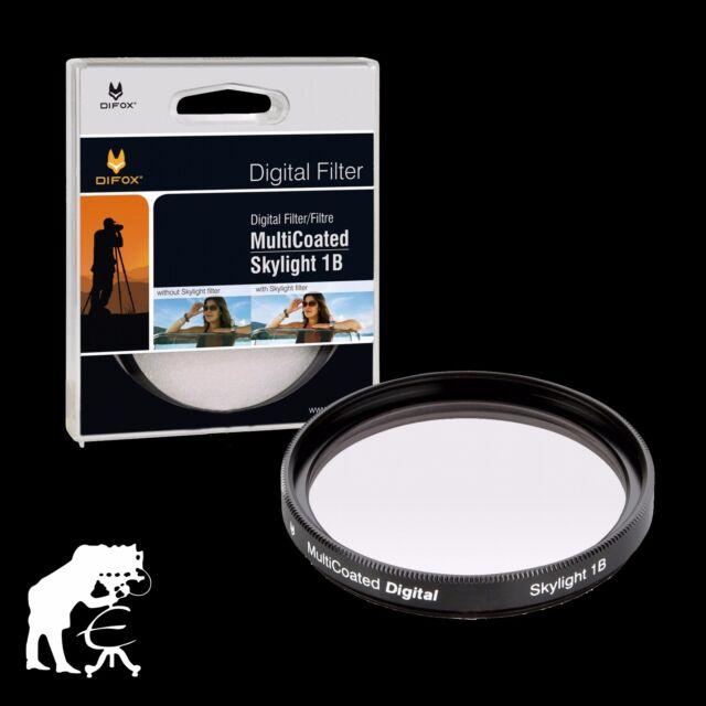 Difox Filter Skylight 1B 82mm MultiCoated für Objektive mit 82 mm Filtergewinde